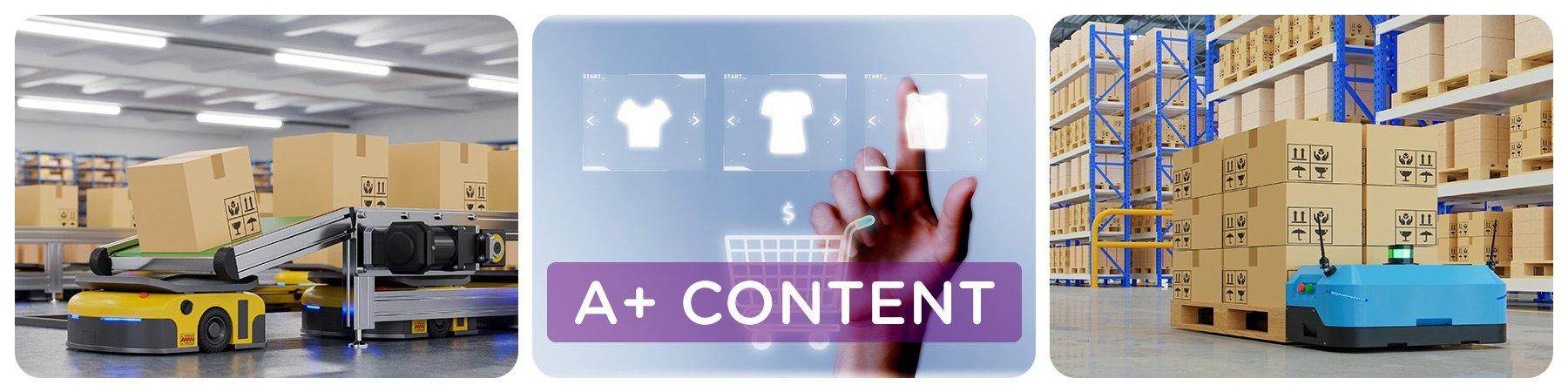Amazon A+ Content(İçerik) Görsel Tasarımı